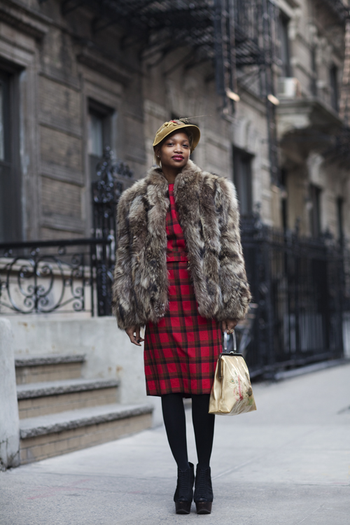 Got A Girl Crush On :  On the Street….East 26th St., New York    KILLING IT!   (via  Sartorialist )