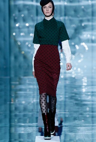 Got A Girl Crush On: Marc Jacobs FW11 Say it with me, ladies: POLKA DOTS!