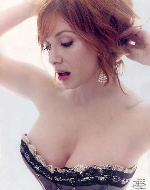 Got A Girl Crush On:  Christina Hendricks (photo by Marco Grob for  NY Mag )   Officially in  Mad Men  withdrawl, y'all!    (via  jannasalmin )