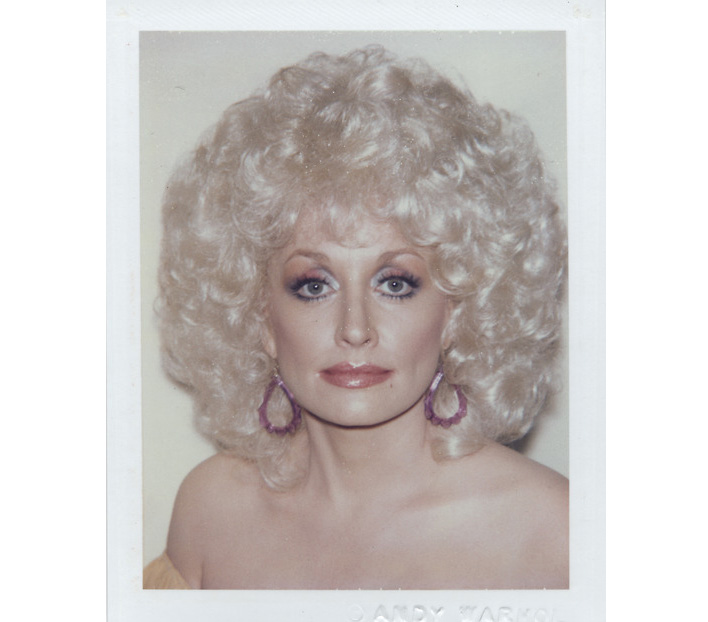 Got A Girl Crush On: Dolly Parton yvynyl: Dolly Parton photographed by Andy Warhol. For those of you who haven't listened to Ms. Parton's records, I encourage you to do so now. And by encourage we mean YOU DON'T KNOW THE HISTORY OF WOMEN IN MUSIC IF YOU HAVEN'T LISTENED TO ANY DOLLY SONGS!