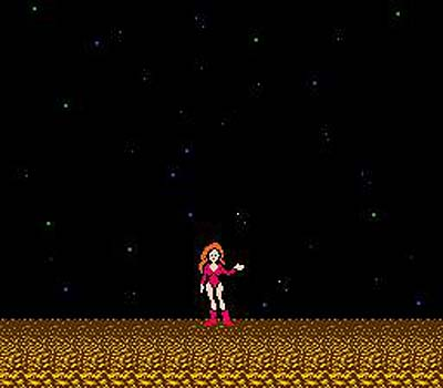 Got A Girl Crush On:   Metroid    Boys (and girls) around the world let a collective gasp in 1987–at the end of this original Nintendo game you found that Samus, the armored hero of the game, was in fact a woman!   Booya!