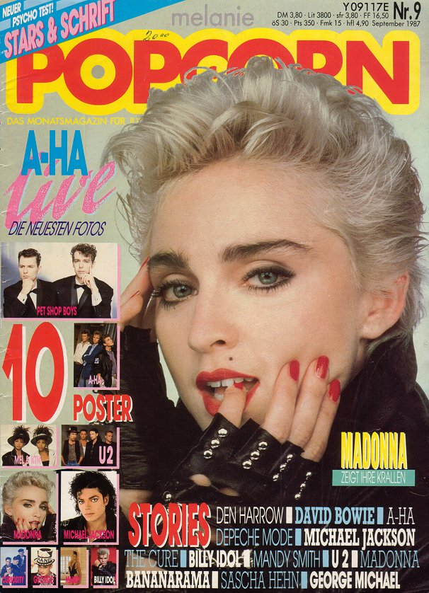 Got A Girl Crush On : 80s Madonna   I love her channeling a punk rocker version of Marilyn, mole and all. I also envy thebrunettesof the worlds that can rock platinum like this. Oh Madge…   (via ourladyofpopularculture )