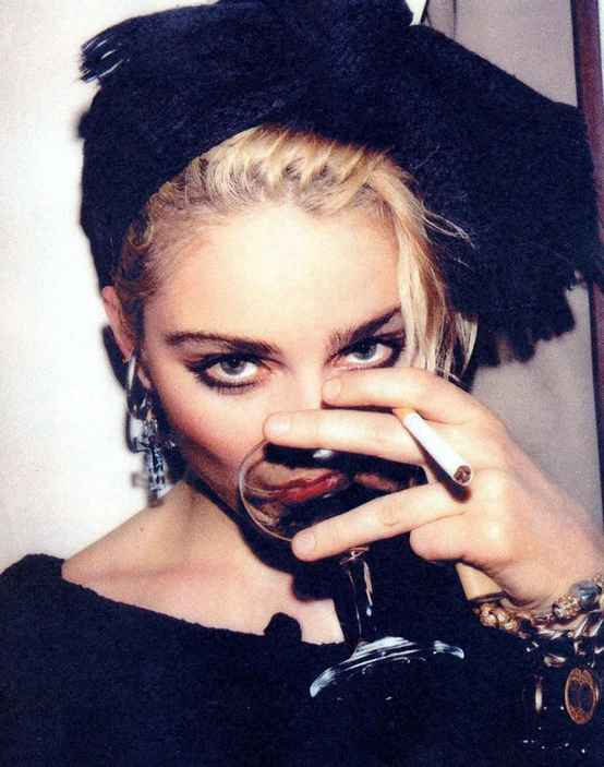 Got A Girl Crush On : old school Madonna   'nuf said.