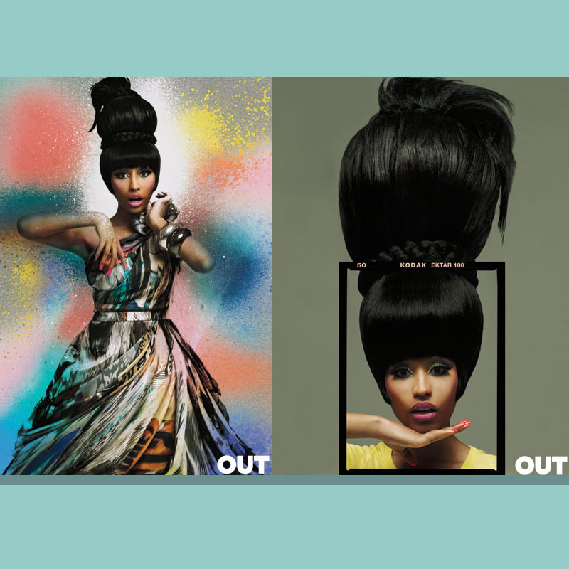 Got A Girl Crush On :  Nicki Minaj  for OUT magazine (photographed by GL Wood)   What a babe!     (via  bkbooth )