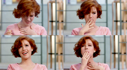 "Got A Girl Crush On: Molly Ringwald as Claire Standish in ""The Breakfast Club"" Lunch with the Breakfast Club by BostonGirly82  (via thegooglymoogly: jeannr: tropigalia: definatalie: anthonyyyy)"