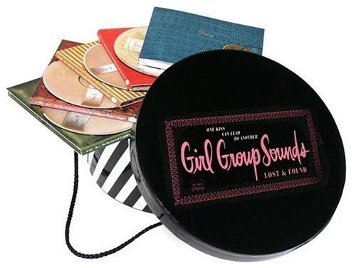 One Kiss Can Lead to Another: Girl Group Sounds Lost and Found Thanks to Ngan for finding this gem! Disc 1 1. Needle in a Haystack - The Velvelettes 2. He's Got the Power - The Exciters 3. Nobody Know What's Goin' On (In My Head But Me) - The Chiffons 4. I'd Much Rather Be with the Girls - Donna Lynn 5. Keep Your Hands Off My Baby - Little Eva 6. Nothing But a Heartache - The Flirtations 7. You Don't Know - Ellie Greenwich 8. Boys - The Shirelles 9. Big Bad World - Cathy Saint 10. Out in the Streets - The Shangri-Las 11. Is It True - Brenda Lee 12. Please Don't Wake Me - The Cinderellas 13. I'll Keep Holding On - The Marvelettes 14. Oh No Not My Baby - Maxine Brown 15. May My Heart Be Cast into Stone - The Toys 16. Magic Garden - Dusty Springfield 17. I Never Dreamed - The Cookies 18. He's a Bad Boy - Carole King 19. Happy, That's Me - Little Frankie 20. Dream Boy - Jackie DeShannon 21. Try the Worryin' Way - The Fabulettes 22. I Can't Let Go - Evie Sands 23. Go Now - Bessie Banks 24. You're No Good - Dee Dee Warwick 25. Opportunity - The Jewels 26. Life and Soul of the Party - Mally Page 27. Break-A-Way - Irma Thomas 28. What Am I Gonna Do with You - Lesley Gore 29. He Did It - The Ronettes 30. Baby That's Me - The Cake http://www.megaupload.com/?d=COUMJEQE Disc 2 1. I Adore Him - The Angels 2. Train from Kansas City - The Shangri-Las 3. Please Go Away - The Shirelles 4. Let Me Get Close to You - Skeeter Davis 5. I Have a Boyfriend - The Chiffons 6. I'm into Something Good - Earl-Jean 7. I'll Come Running - Lulu 8. If There's Anything Else You Want (Let Me Know) - Roddie Joy 9. When the Lovelight Starts Shining Through His Eyes - The Supremes 10. It Comes and Goes - Sadina 11. Baby, Baby (I Still Love You) - The Cinderellas 12. Girl Don't Come - Sandie Shaw 13. That's When the Tears Start - The Blossoms 14. What a Lonely Way to Start the Summertime - The Bitter Sweets 15. Don't Drop Out - Dolly Parton 16. One You Can't Have - The Honeys 17. I'm Nobody's Baby Now - Reparata & the Delrons (With Hash Brown And His Orchestra) 18. You're So Fine - Dorothy Berry 19. When You're Young and in Love - Ruby & the Romantics 20. My One and Only, Jimmy Boy - The Girlfriends 21. Friend of Mine - The Geminis 22. Chico's Girl - Girls 23. Cause I Love Him - Alder Ray 24. Bye Bye Baby - Mary Wells 25. First Cut Is the Deepest - P.P. Arnold 26. I Won't Tell - Tracey Dey 27. Egyptian Shumba - The Tammys 28. I Sold My Heart to the Junkman - Starlets 29. Walking in Different Circles - Goldie & the Gingerbreads 30. Hideaway - The Young Generation http://www.megaupload.com/?d=6A07KNOT Disc 3 1. Trouble with Boys - Little Eva 2. Lookin' for Boys - The Pin-Ups 3. Dream Baby - Cher 4. Condition Red - The Goodees 5. Should I Cry [Alternate Take] - Jackie DeShannon 6. I'm Blue (The Gong-Gong Song) - The Ikettes 7. I've Been Wrong Before - Cilla Black (With George Martin's Orchestra) 8. Love's Gone Bad - Chris Clark 9. Nightmare - Whyte Boots 10. She Don't Deserve You - The Honeybees 11. Will You Be My Love - Four J's 12. Take Me for a Little While - Evie Sands 13. Funnel of Love - Wanda Jackson 14. I'm Gonna Destroy That Boy - What Four 15. Terry - Twinkle 16. Untrue Unfaithful (That Was You) - Nita Rossi 17. Sophisticated Boom Boom - Goodies 18. Saturday Night Didn't Happen - Reparata & the Delrons 19. Don't Ever Leave Me - Connie Francis 20. Don't Forget About Me - Barbara Lewis 21. Wanna Make Him Mine - The Emeralds 22. Only to Other People - The Cookies 23. Big-Town Boy - Big Town Girls - Shirley Matthews 24. Daddy You Gotta Let Him In - The Satisfactions 25. After Last Night - The Rev-Lons 26. How Can I Tell My Mom & Dad - The Lovelites 27. Too Hurt to Cry, Too Much in Love to Say Goodbye - Darnells 28. Up Down Sue - Luv'd Ones 29. When I Think of You - Twiggy 30. Good, Good Lovin' - The Blossoms http://www.megaupload.com/?d=DZ6JABIB Disc 4 1. When the Boy's Happy (The Girl's Happy Too) - The Four Pennies 2. Don't Drag No More - Susan Lynne 3. I'm Afraid They're All Talking About Me - Dawn 4. That's How It Goes - The Breakaways 5. Some of Your Lovin' - The Honeybees 6. Peanut Duck [#] - Marsha Gee 7. Thank Goodness for the Rain - Peanut 8. Steady Boyfriend - April Young 9. He Was Really Sayin' Somethin' - The Velvelettes 10. I Know You Love Me Not - Julie Driscoll 11. Whatever Happened to Our Love - Maxine Brown 12. Heart - Petula Clark 13. I Can't Give Back the Love I Feel for You - Syreeta Wright 14. He Makes Me So Mad - The Hollywood Jills 15. I Can't Wait Until I See My Baby's Face - Dusty Springfield 16. Crying in the Rain - Carole King 17. We Don't Belong - Sylvan 18. You Don't Love Me No More - Madeline Bell 19. Hey, Tell Me Boy - Marie Knight 20. Brink of Disaster - Lesley Gore 21. Who Do You Love - The Sapphires 22. I'm 28 - Toni Basil 23. They Never Taught That in School - Gayle Harris 24. Dressed in Black - The Pussycats 25. Ain't Gonna Kiss Ya - The Ribbons 26. Every Little Bit Hurts [Del-Fi Version] - Brenda Holloway 27. Mister Loveman - Yvonne Carroll 28. Make the Night a Little Longer - The Palisades 29. Mixed Up, Shook Up, Girl [Live] - Patty & the Emblems 30. Good Night Baby - The Butterflys http://www.megaupload.com/?d=9H2VLSO0 (via raccoonx)