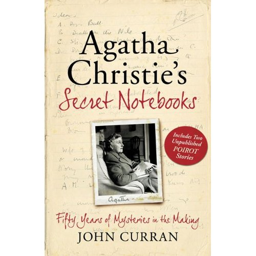 "Slate Magazine: Agatha Christie's Secret Notebooks.     Got a girl crush on: Agatha Christie    Looks  like the writing process of the mistress of mysteries Dame Agatha Christie was perplexing in  itself. From her nonlinear way of constructing the plot to her haphazard  workspace, author John Curran explores the writing methods of Christie  in his book   Agatha  Christie's Secret Notebooks  .:   ""What, then, could be  more shocking than to discover that the dame was no  lady? Agatha didn't sit at a pristine desk neatly typing her novels,  Chapter 1 followed by Chapter 2, and so on, before donning gloves and  descending at 6 p.m. for a sherry. In   Agatha Christie's Secret Notebooks  , John  Curran, a Christie expert who has trawled through 73 of the author's  previously unread notebooks, reveals the utter derangement in Christie's  method. Her less-than-refined writerly day began with finding her  notebook,  which surely she'd left  right there . Then, having found  a  notebook (not  the  one she'd used yesterday), and staring in  stunned amazement at the illegible chicken scratchings therein, she  would finally settle down to jab at elusive characters and oil creaky  plots. Most astonishing, Curran discovers that for all her assured  skewering of human character in a finished novel, sometimes when  Christie started her books, even  she  didn't know who the  murderer was. Ah! It makes sense—a brilliant mystery writer must first  experience the mystery! Or does it""   (via  kottke.org )"