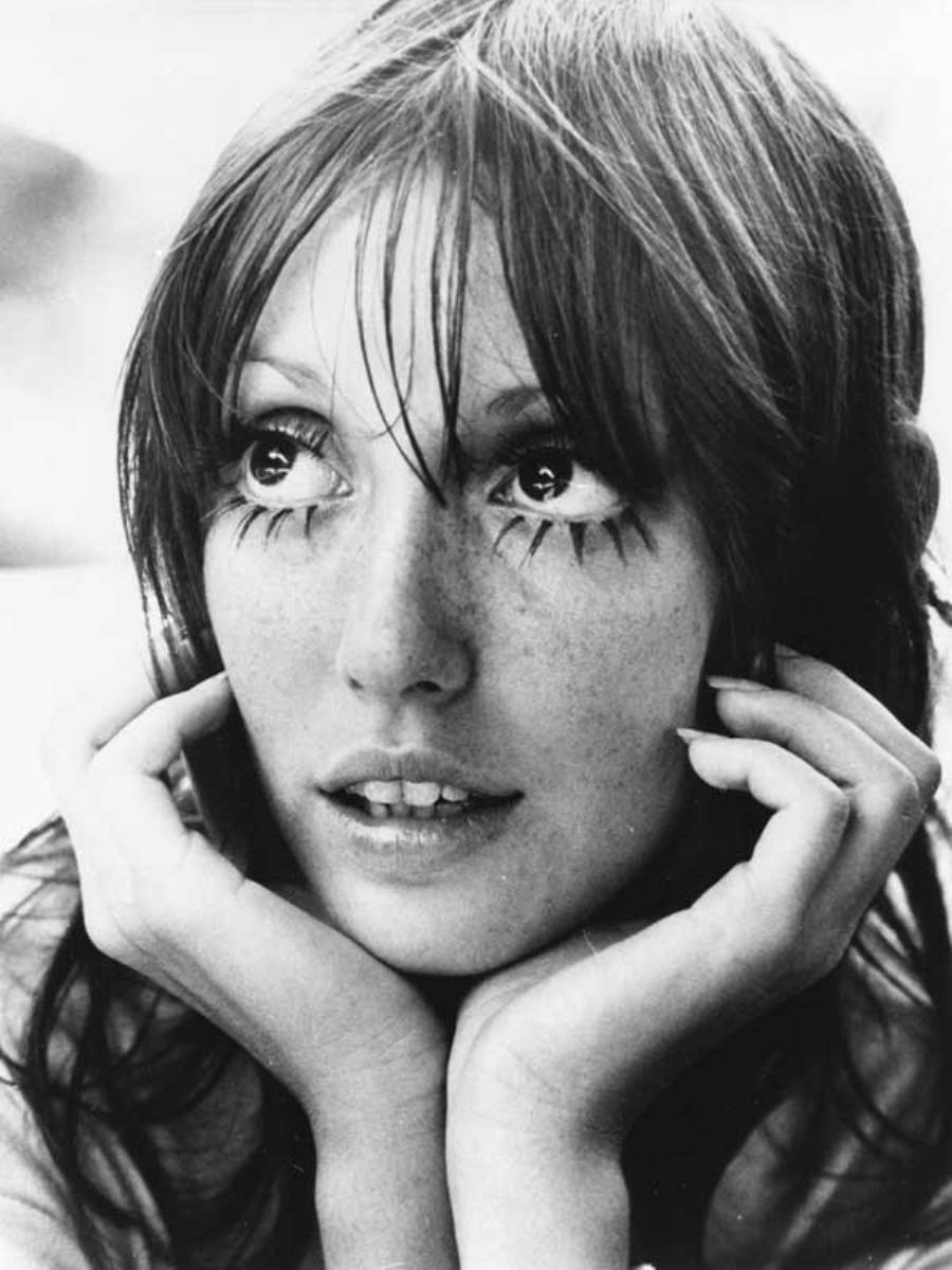 "Got a girl crush on: Shelley Duvall My favorite story in the latest issue of Lula is the piece on Shelley Duval. Sure she was great in Popeye, The Shining, etc., but can we please talk about Shelley Duval's Faerie Tale Theatre? That shit was amazing!  She hosted, narrated, produced and occasionally stared in this series that retold popular fairy tales. And everybody who's anybody was in it! Tim Burton directed ""Aladdin"", Francis Ford Coppola directed ""Rip Van Winkle"", Mick Jagger played the emperor in ""The Nightingale"", Susan Sarandon was in ""Beauty and the Beast"", Christopher Reeve and Bernadette Peters starred in ""Sleeping Beauty"", Jeff Bridges was in ""Rapunzel""…this list goes on and on.  And after a bit of googling, it seems like Paste Magazine was recently reminiscing on this, too, and has informed us that episodes are available on Hulu.  (Photo via Laurie Luxe)"