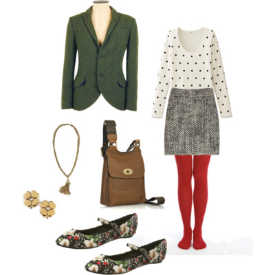 "Got A Girl Crush On:   Even Cleveland 's  ""Imaginary Outfits""    I'm a fan of  polyvore , even tho I've yet to try it out myself, but I think Stephanie from  Even Cleveland 's maximizes its utmost capacity for this grown-up version of dress-up by creating imaginary romps to the redwood forests to ice fishing to trips to the planetarium to just staying home (and being exceptionally cute)!"