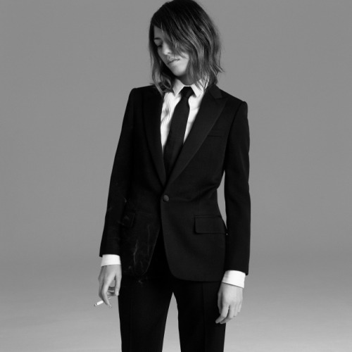 Got a girl crush on: Sofia Coppola    There's nothing more rad than a girl who can pull off a men's suit.   (via  waxandmilk : bohemea )