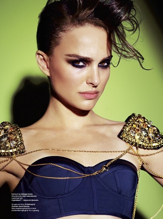Natalie Portman,  V Magazine . Photographed by Mario Testino.    Got a girl crush on: Natalie Portman    There is so much fierceness going on in this photo.    (via  shannondavenport )