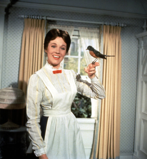 Got a girl crush on: Mary Poppins Hmmm…Halloween costume possibility? (via audreyhepburncomplex)