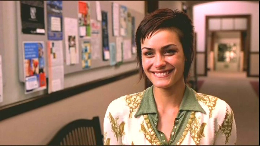 Got A Girl Crush On:  Shannyn Sossaman (in Rules of Attraction)   That hair!