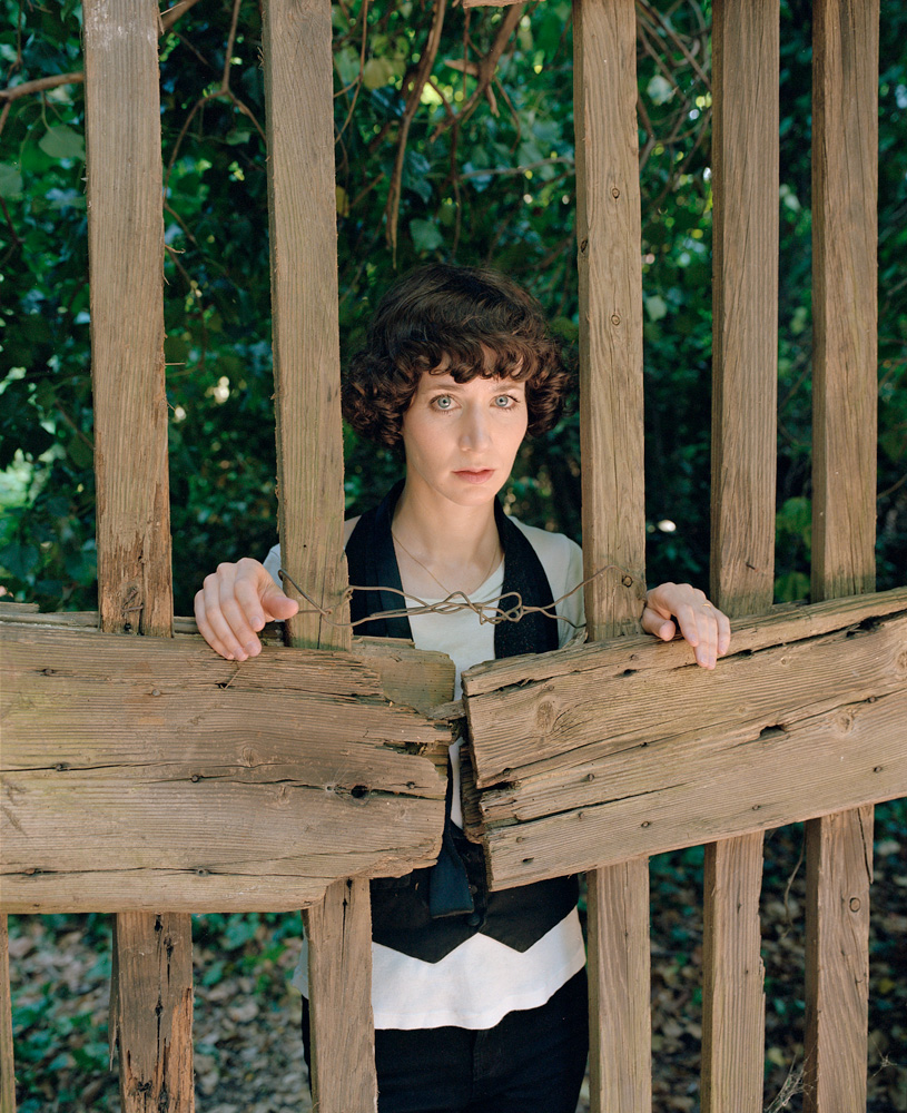 "Got a girl crush on: Miranda July    As far as girl crushes go, it doesn't get more swoon-worthy than miss Queen of Quirk herself, Miranda July. She's clever, artistic, talented, well-spoken, and has a great sense of style.   As evidenced in her work titles,  her extremely personable demeanor commands her audience to immerse, participate and create art together. ""Me and  You  and Everyone  We  Know"". ""No One Belongs Here More Than  You "". ""Learning to Love  You  More"". ""Are  You  the Favorite Person of Anybody?"". Okay okay, we get it! Art that non-excludes? I like!   This month's Interview Magazine features a great piece about her work ""Eleven Heavy Things"" at the Venice Biennale. Naturally, her piece depended on the participation of show visitors:   ""Many of the pieces come with July's loaded text messages such as What I look like when I'm lying (notice the cute toddler in our photos) or We don't know each other. We're just hugging for the picture. When we're done I'll walk away quickly. It's almost over. Part of the idea was that the project would be completed only in the snapshots of visitors who traveled to Venice for the art and then brought the evidence of July's work back home with them.""   Check out the article for more on ""Eleven Heavy Things"", as well as a round of 20 Questions between July and creatives like Cindy Sherman, Spike Jonze, Michel Gondry, the Mulleavy sisters, Dave Eggers, and Chan Marshall.    Miranda July - Interview Magazine"