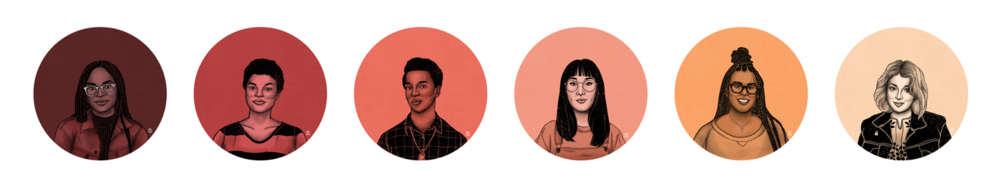 Dream Team Portraits by Christina Chung