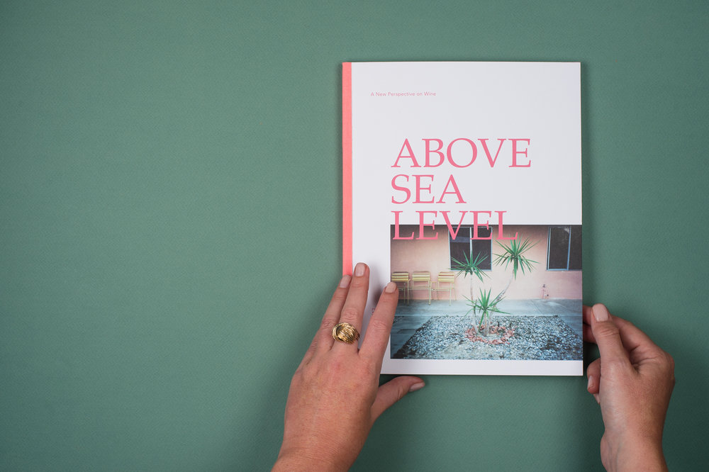 A spread from Issue 1 of  Above Sea Level . Photo by Addie Chinn.