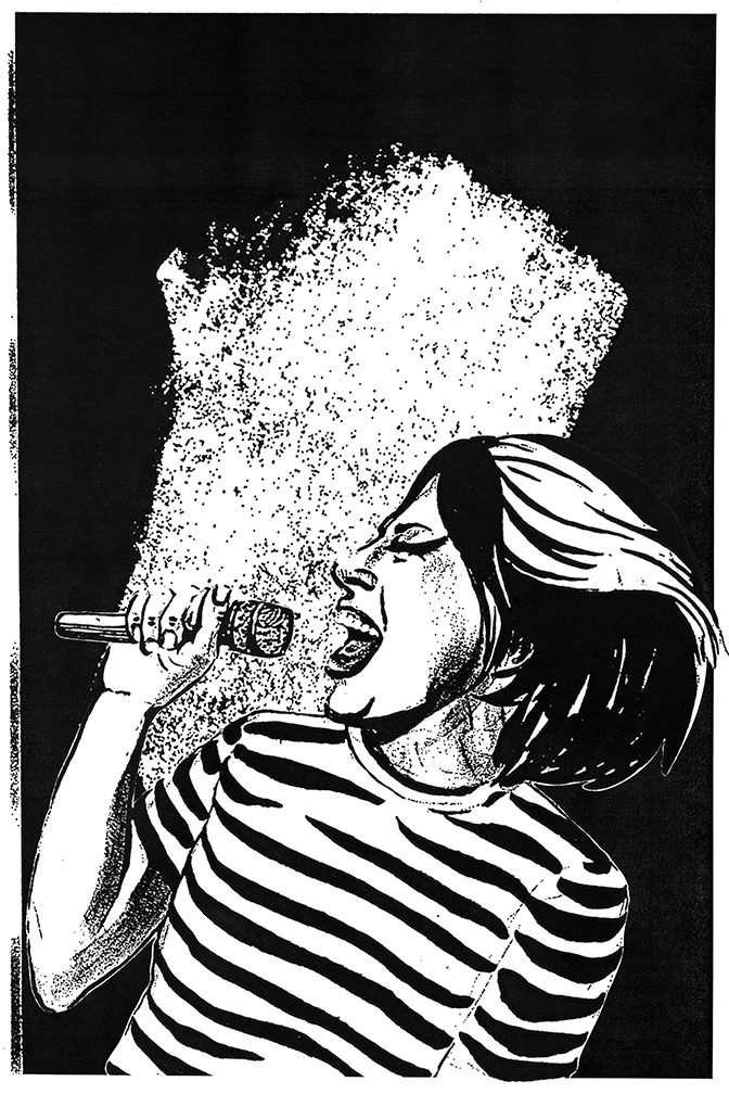 Illustration by  Ariel Roman