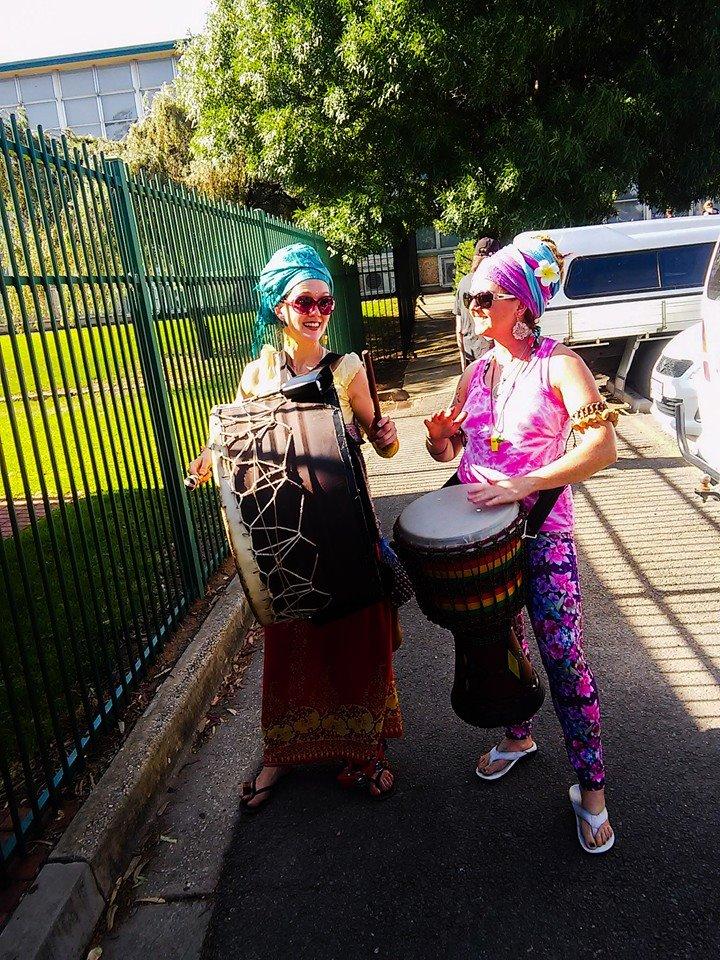 Drumming Parade @ Elizabeth East Primary School