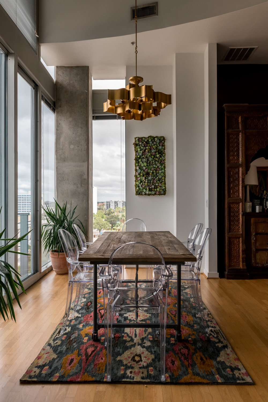Ann Cox Design_Interior Design_Downtown Tampa Modern Dining Room-2