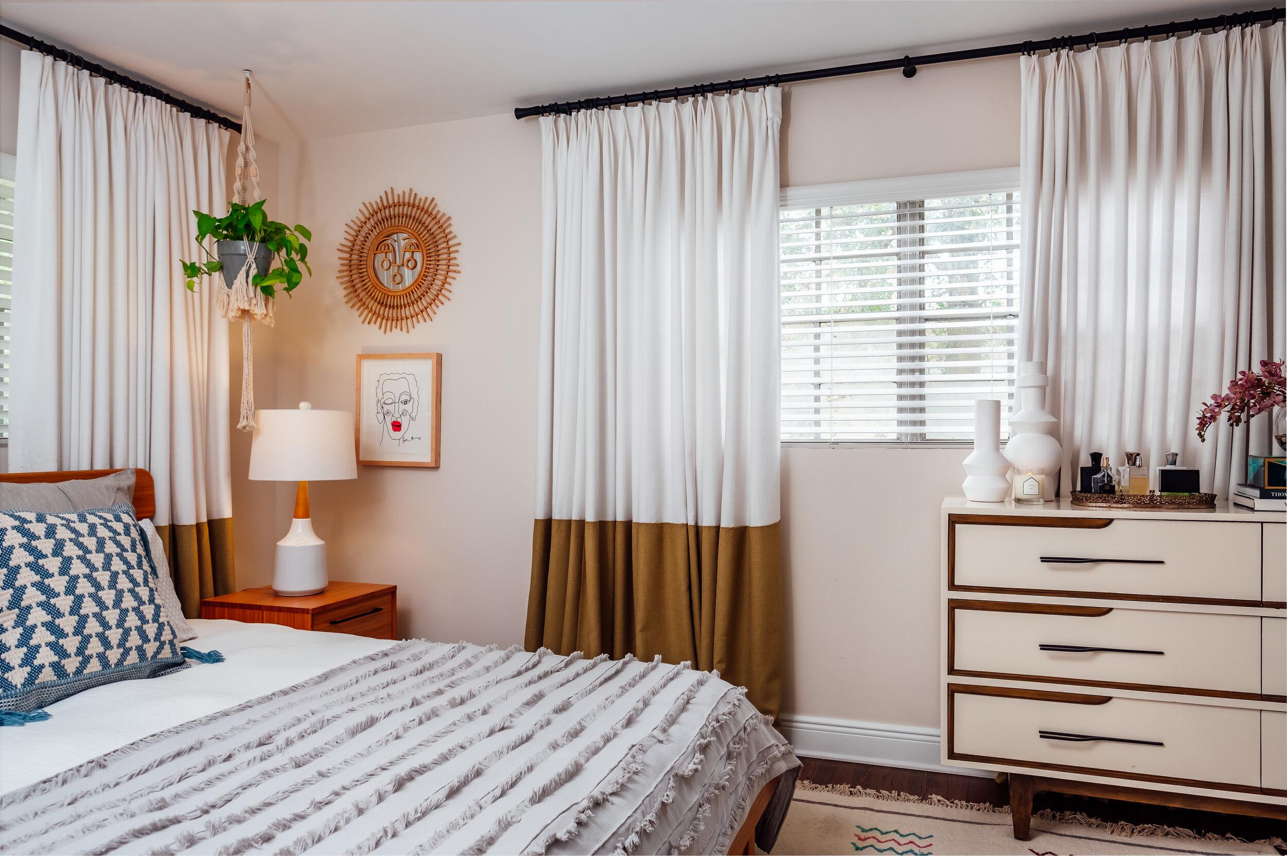Annie S Home Style Our Modern Boho Master Bedroom Ann Cox Design Interior Design In Tampa