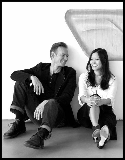 Architects and designers, Dwayne Oyler and Jenny Wu.