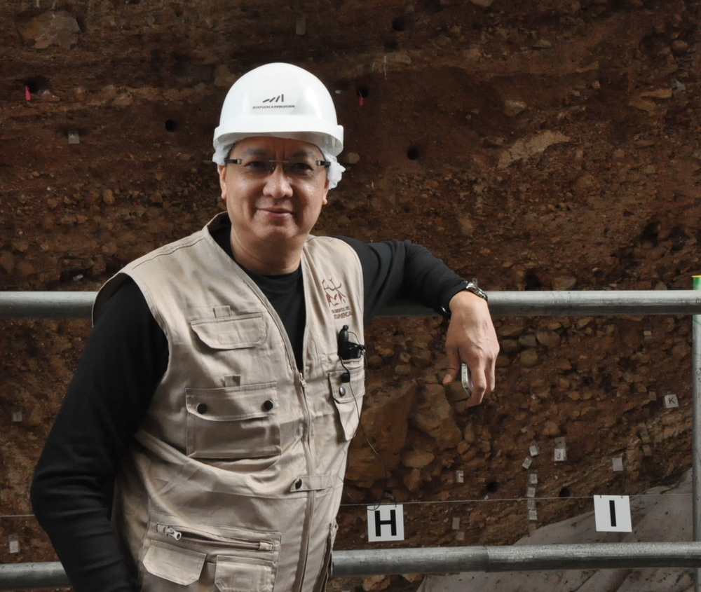 2012, SPAIN: At the Atapuerca archaeological site where the oldest known European human fossils,  Homo intercessor, dating back to 1 million years ago were discovered.