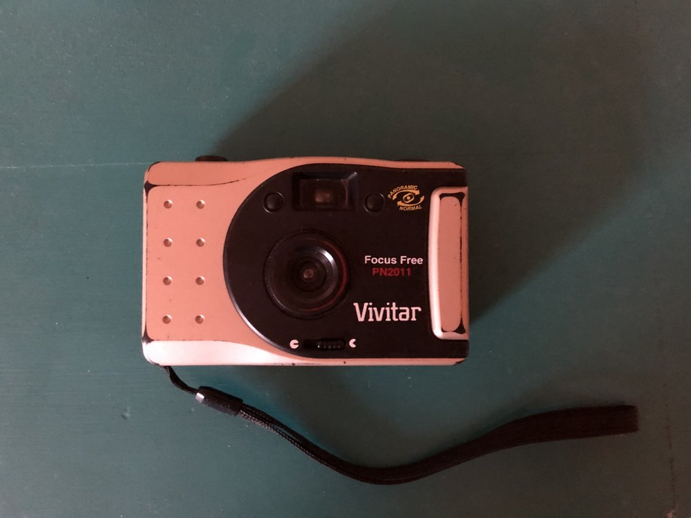SHOT ON: Vivitar PN2011. the first point + shoot i ever got; i found it at an estate sale in green hills for $5. i didn't know anything about film cameras, but this one has been a good companion to me over this last year.