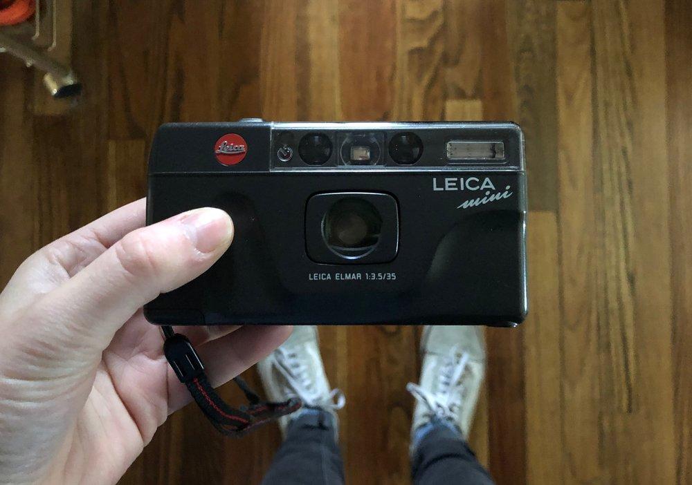 SHOT ON: leica mini, my christmas present. with kodak portra 400.