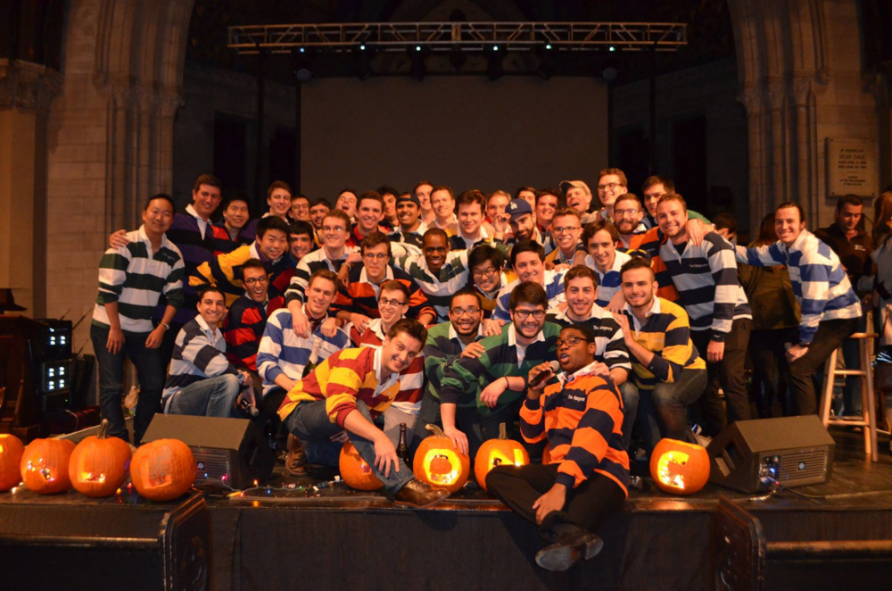 The current Hangovers with 40+ alumni at Fall Tonic XXXVI, held in Sage Chapel on November 13th, 2015.