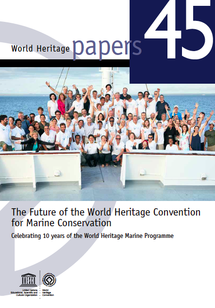 The Future of the World Heritage Convention for Marine Conservation  is a publication of the United Nations. I was the lead author on Chapter 5.  Click here to download a PDF.