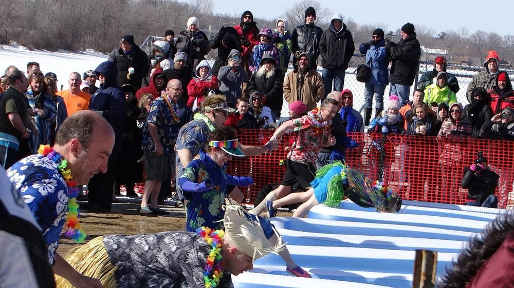 Lake County Sheriff's Ice Breakers - Polar Plunge 2015