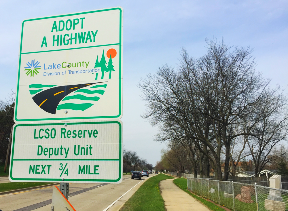 Adopt a Highway program - Highway 83, Arlington Heights