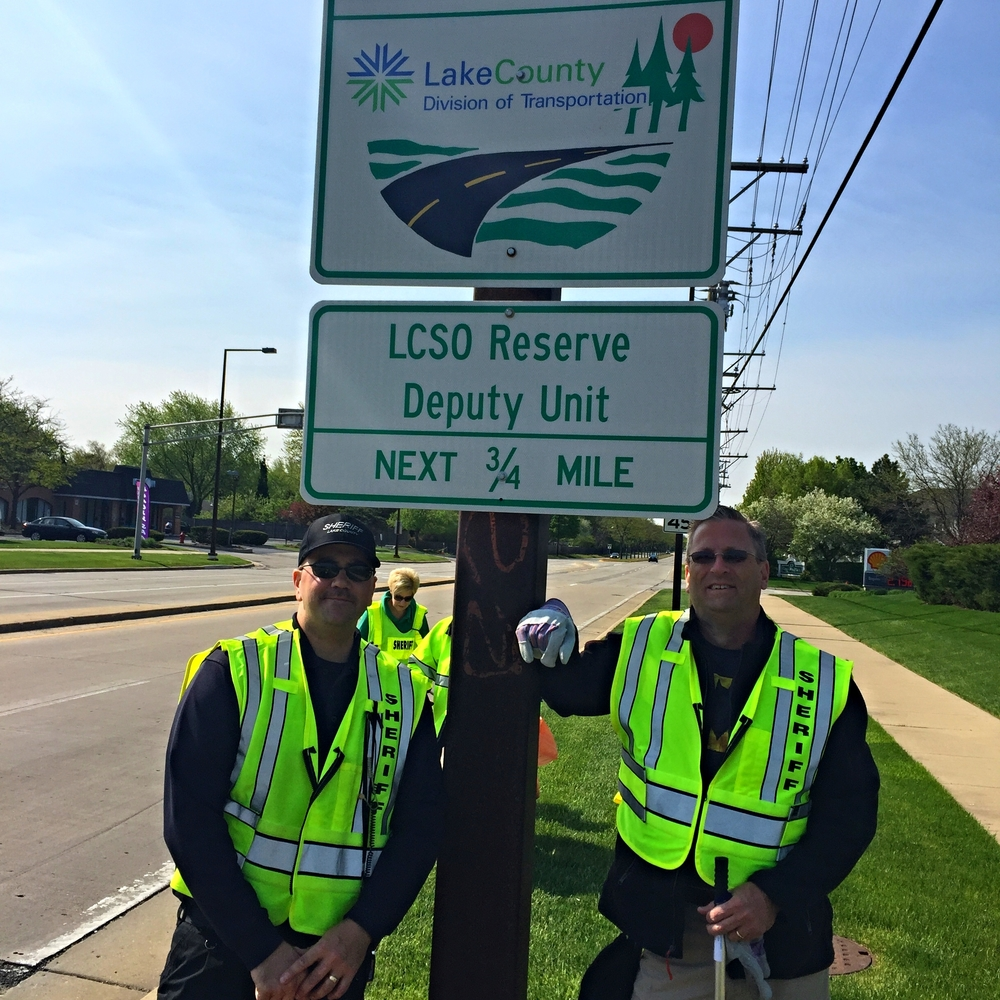 LCSO RD Unit Adopt-A-Highway Cleanup