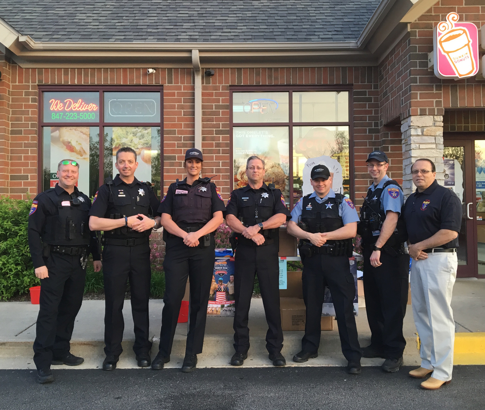 5/20 Cop on Rooftop Fundraiser for the Special Olympics - Dunkin Donuts, Third Lake