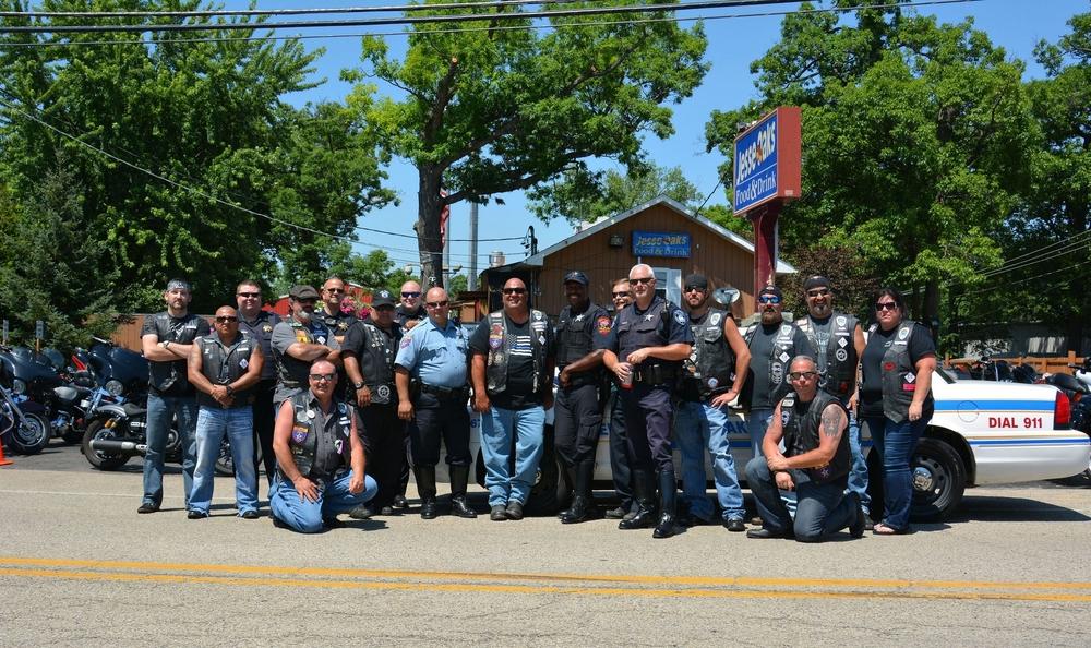 Iron Justice M/C Lake County Police K-9 Memorial Ride
