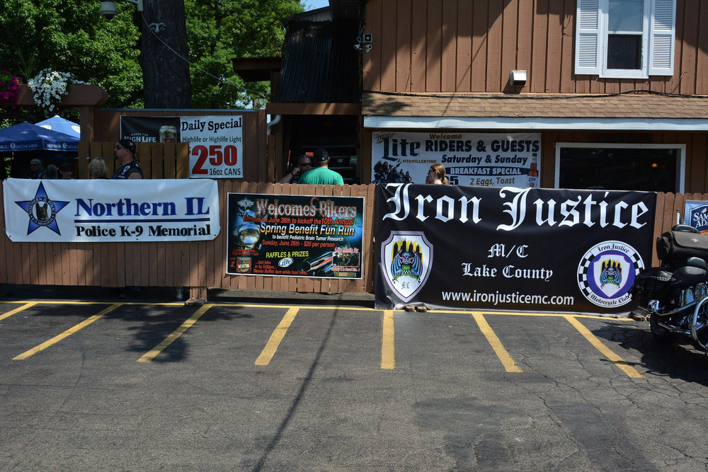 Iron Justice M/C Lake County Police K-9 Memorial Ride