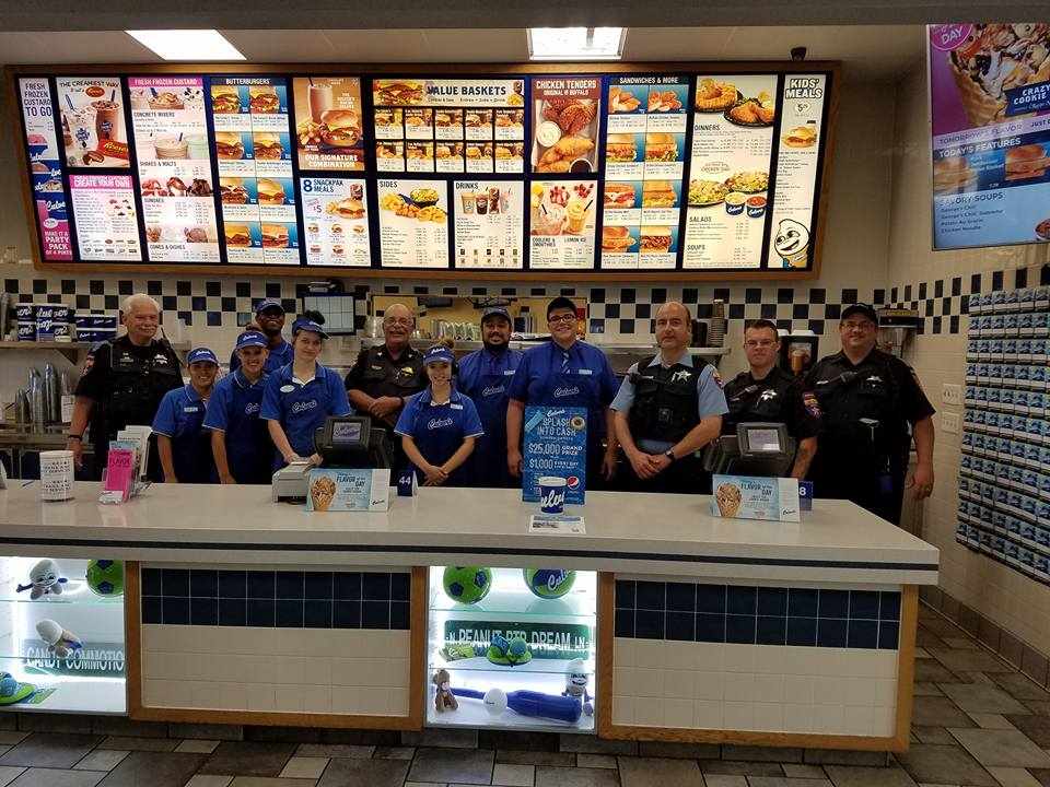 The Lake County Sheriff's Office raised $634.48 for Special Olympics IL, at the Culver's ButterBurgers and Badges event in Mundelein