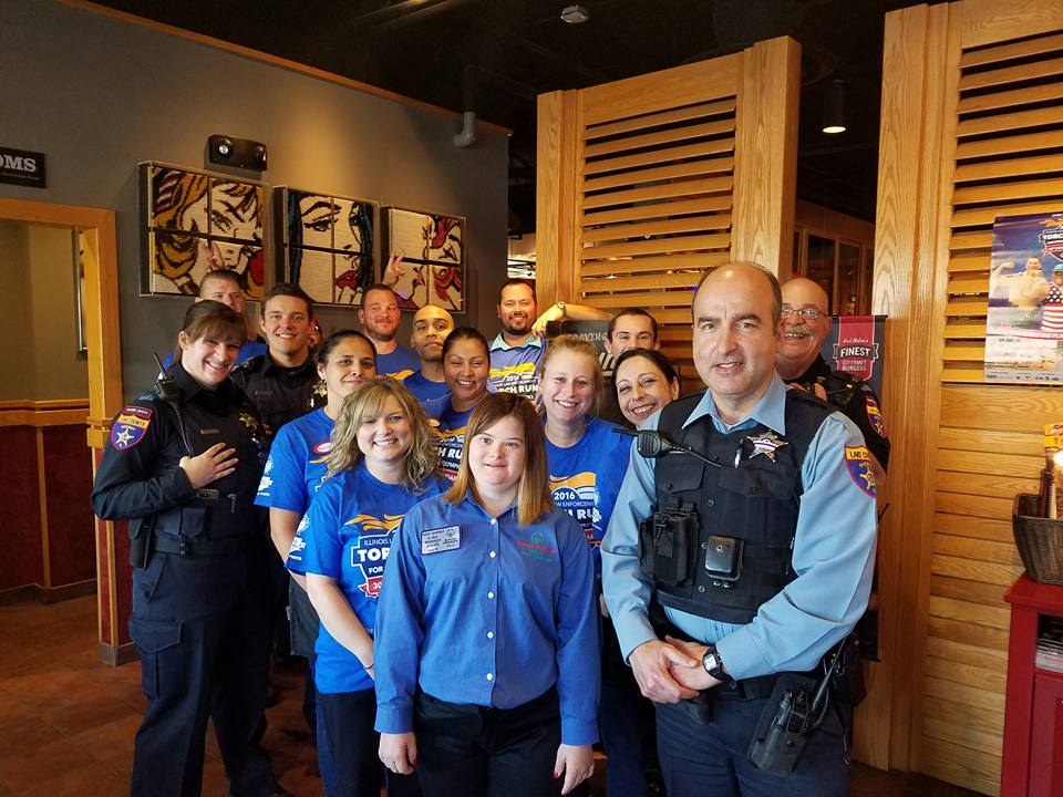 Annual Red Robin Tip-A-Cop for Special Olympics - Deer Park