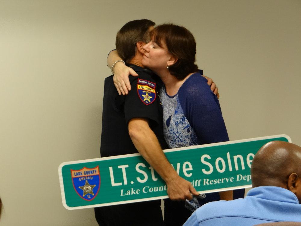 Lt. Solner Retirement