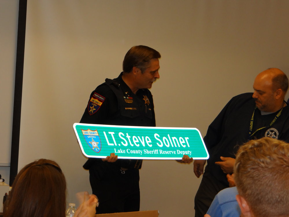 Lt. Solner Retirement