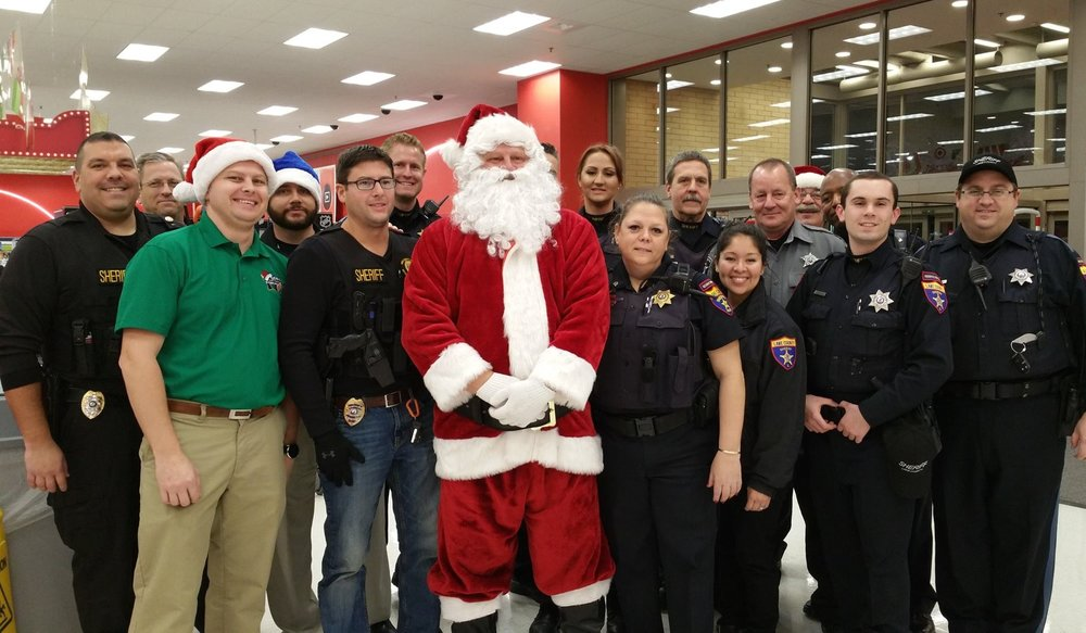 Shop with a Sheriff 2016 - Mundelein Target