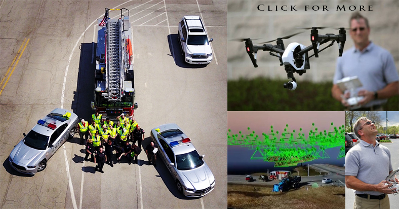 RD Stan Taylor Develops Drone Technology for Crash Investigations