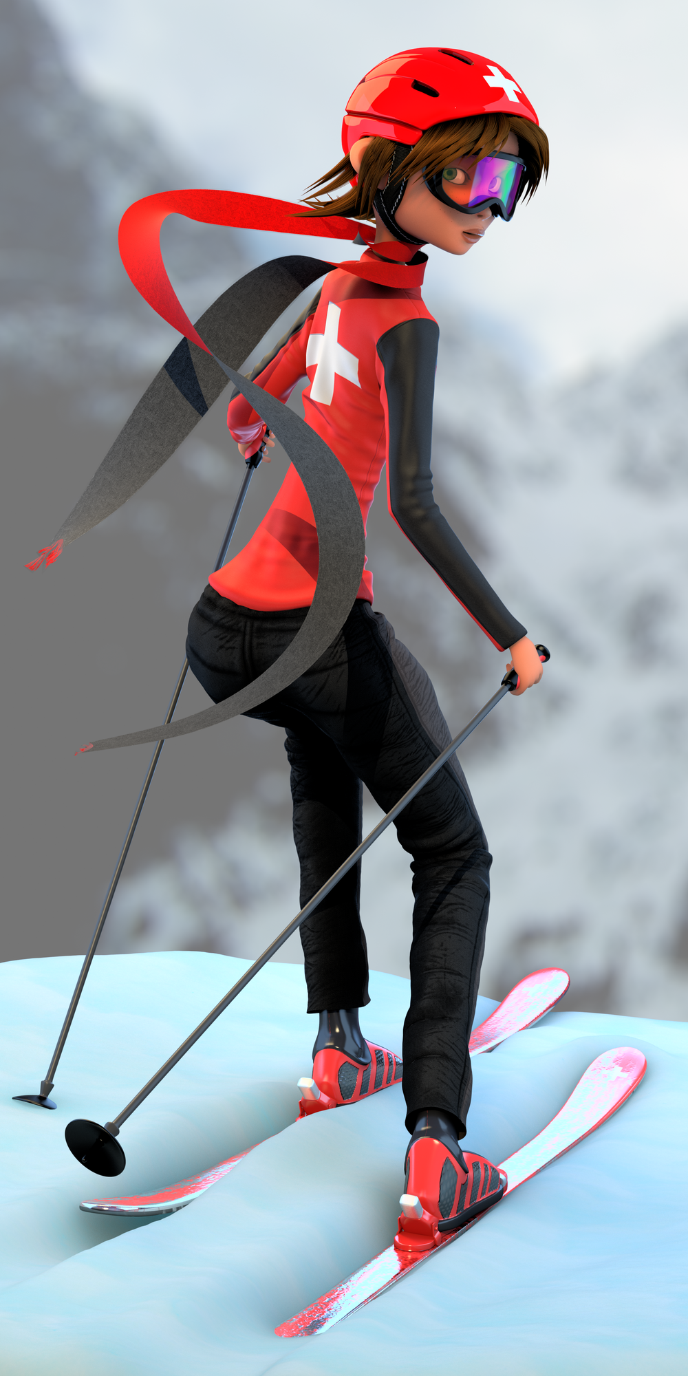 Ski Patrol Character