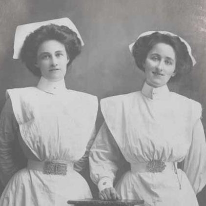 Sisters Lydia and Esther King