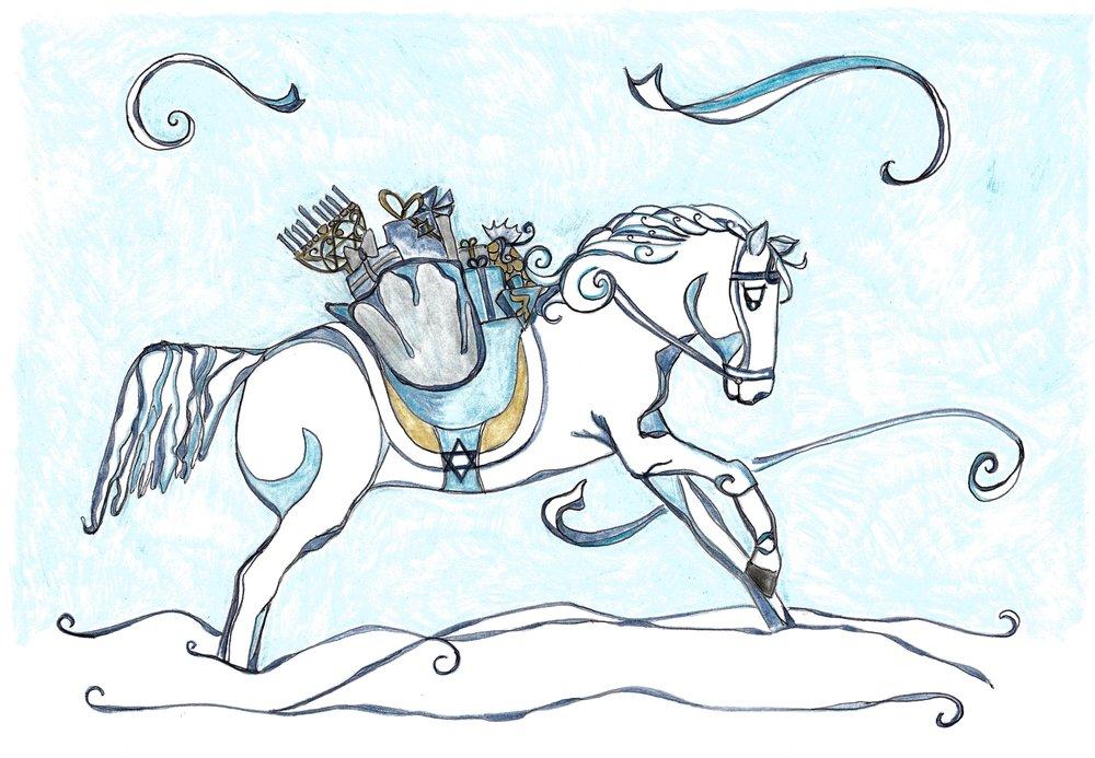 Hanukkah Horse: By Tina Kay Kesler