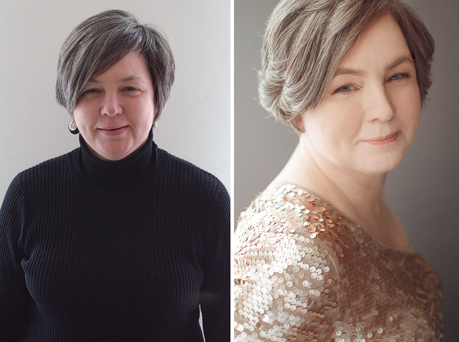 Jane's beautiful Before & After