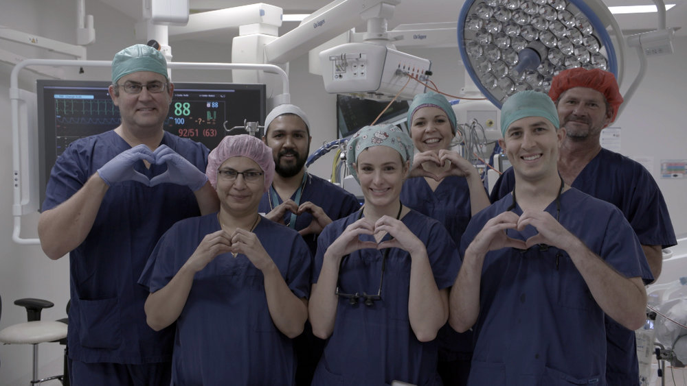 Just a small part of our heart surgery team you can see this week on Catalyst. Picture: ABC