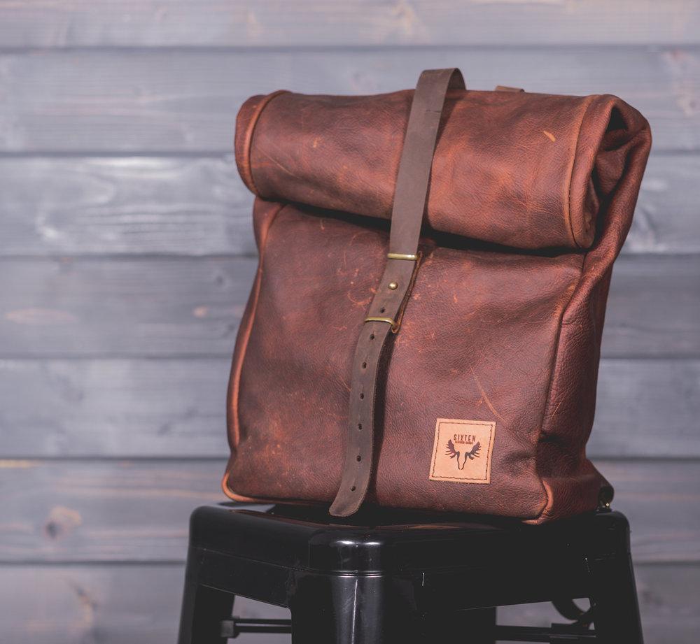 e9dd046aae Handmade Leather Backpack