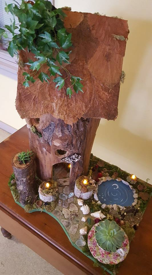 Fairy House - by Nicki