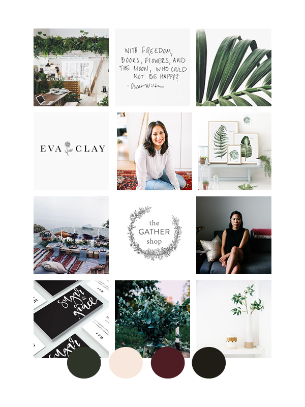 Salt Design Co. Alexa Mazzarello Mood Board